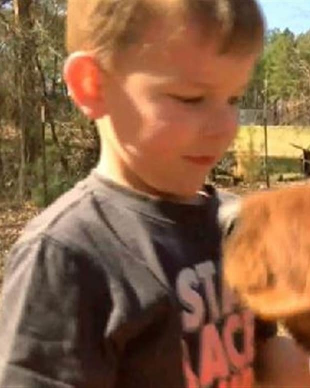Hunting Dog Finds Missing 3-Year-Old Boy Promo Image