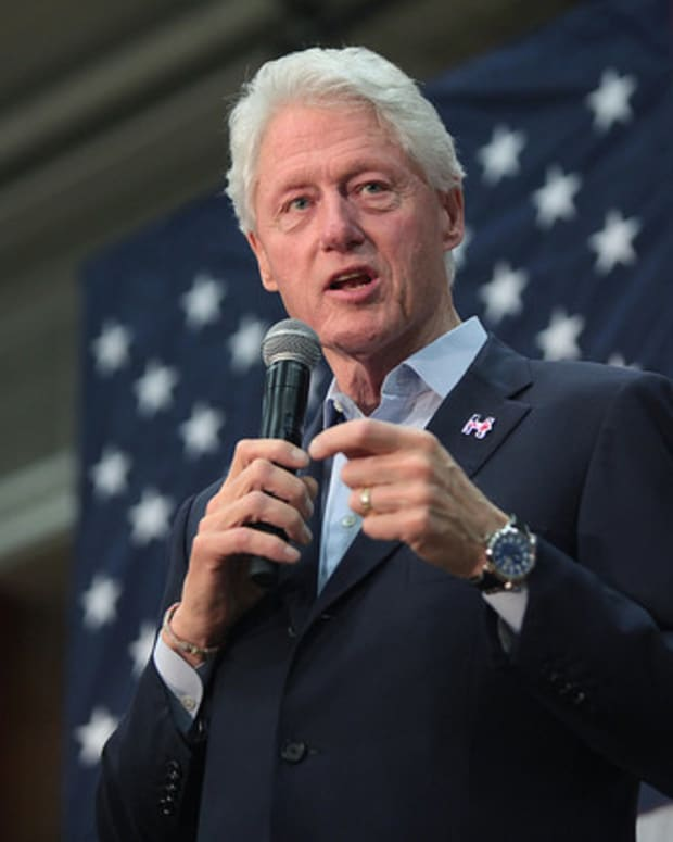 Trump Insinuates Bill Clinton Is A Rapist (Video) Promo Image