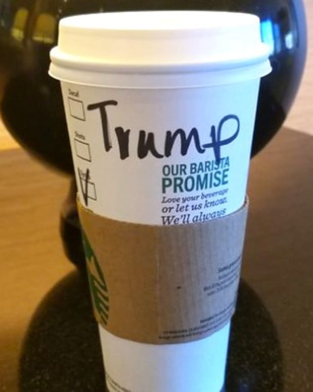 Scott Baio Tries To Make Starbucks Worker Say 'Trump' Promo Image