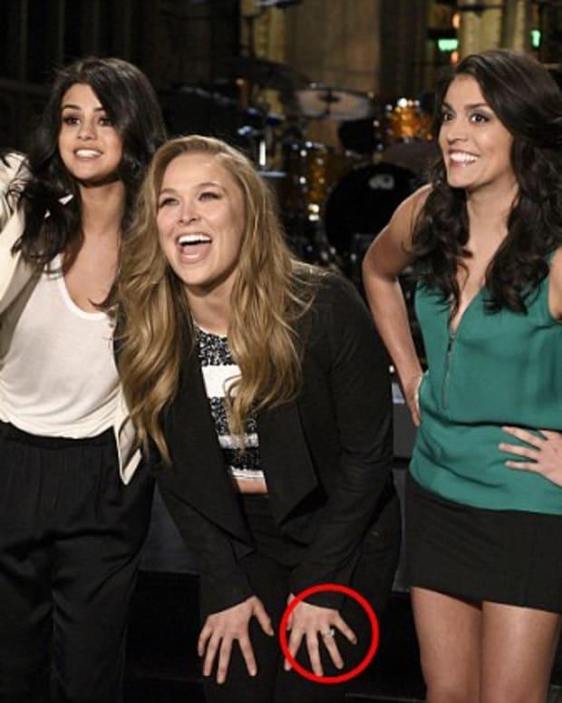 """Ronda Rousey on """"SNL."""""""