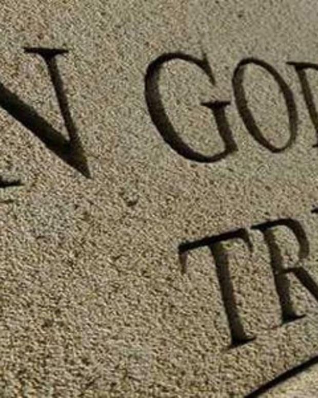 In God We Trust.