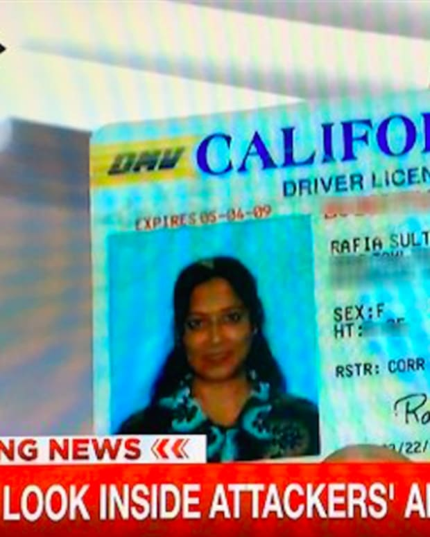 Rafia Farook's license