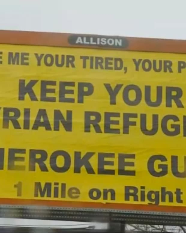 cherokee guns billboard