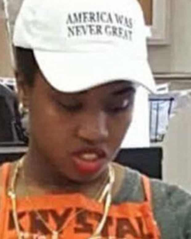 Home Depot Bans 'America Was Never Great' Hat Promo Image