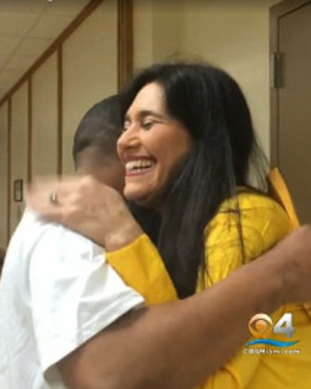 Judge Reunited With Classmate In Court (Video) Promo Image