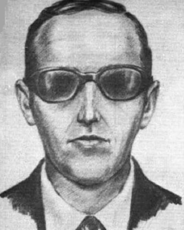 FBI Sketch Of D.B. Cooper.