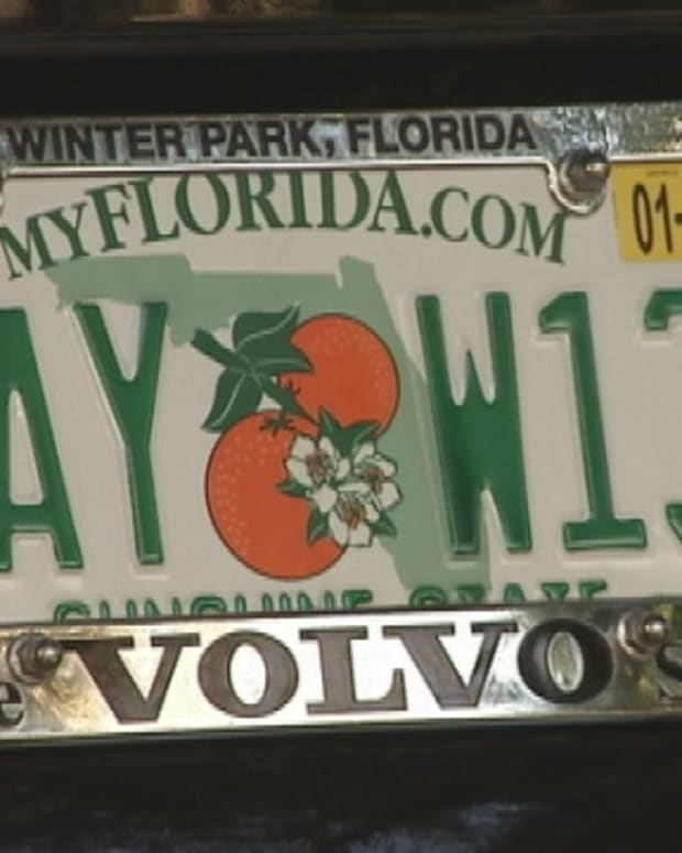 'GAY' license plate