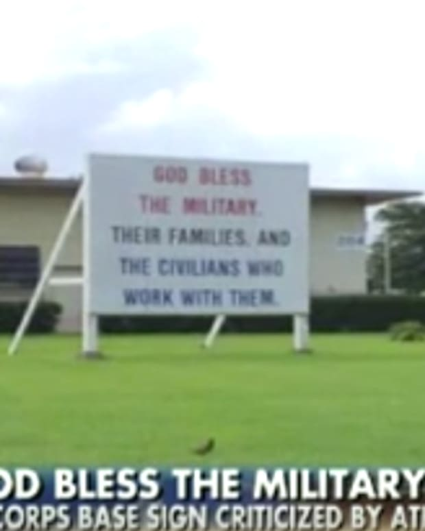 God Bless Sign Hawaii