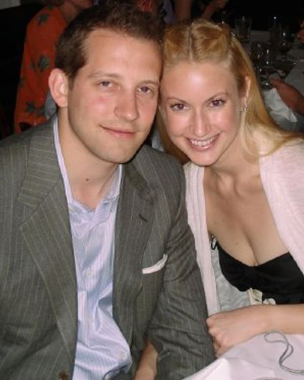 Kiersten Rickenbach Cerveny with husband Andrew