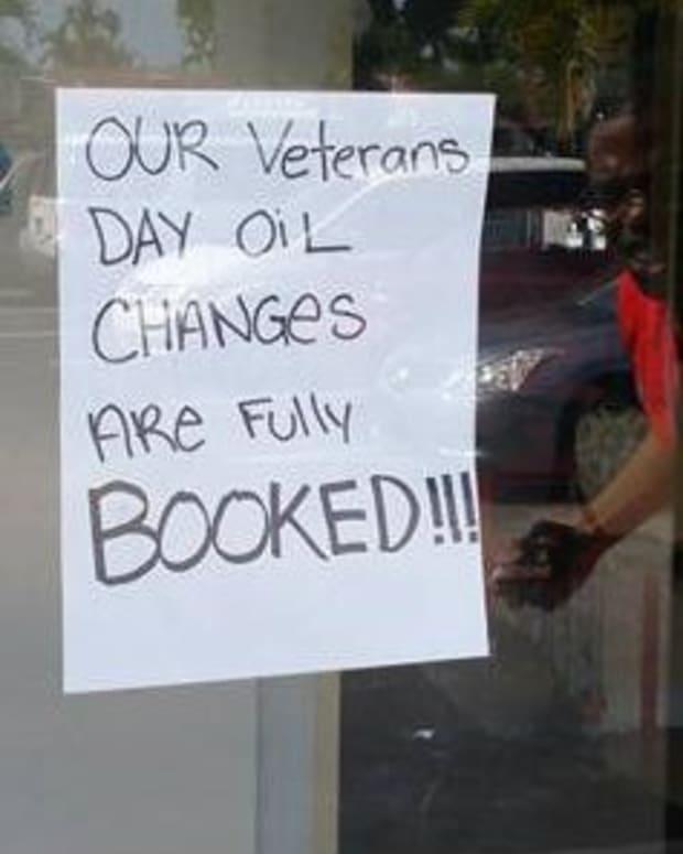 sign at Meineke Car Care center in lauderhill, florida