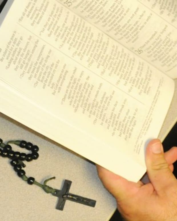 Cop Shows Up At Mom's Door, Warns Her About Bible Notes Promo Image
