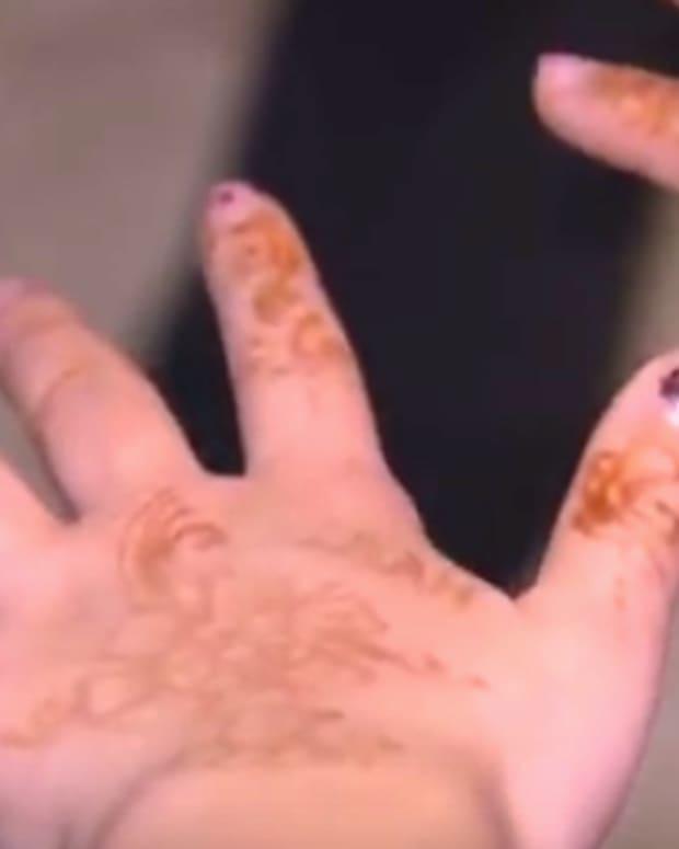 Henna Tattoos.