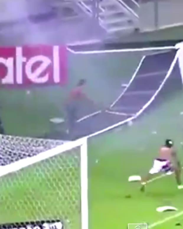 Brazilian Soccer Riot.