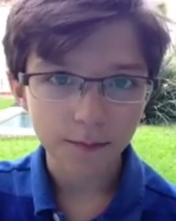 12-Year-Old Boy Slams Anti-Vaccine People (Video) Promo Image