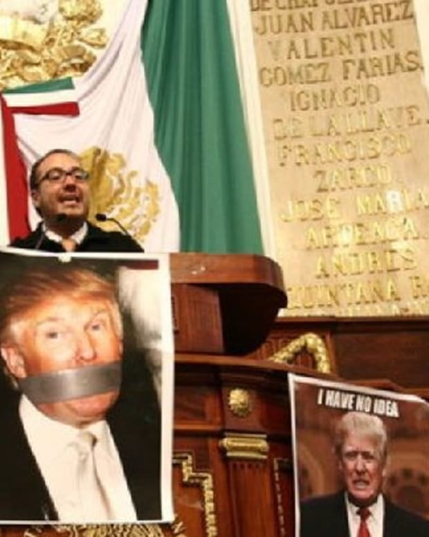 Mexico City Passes Proposal To Ban Trump From Mexico Promo Image