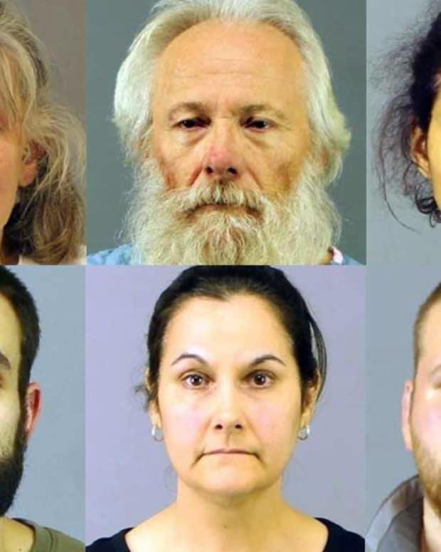 Clockwise from top left: Deborah Leonard, Bruce Leonard, Sarah Ferguson, Joseph Irwin, Linda Morey, David Morey