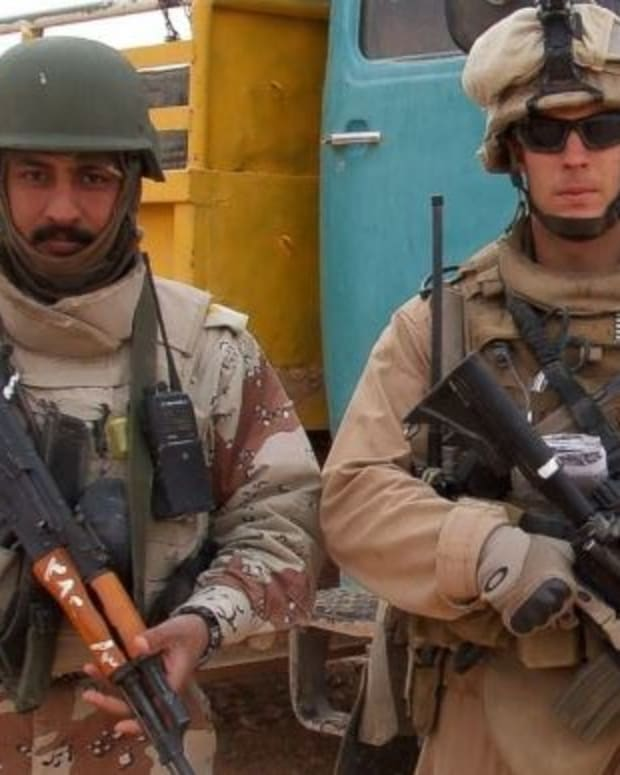 Marine Seeks Asylum For Iraqi Soldier Who Rescued Him Promo Image