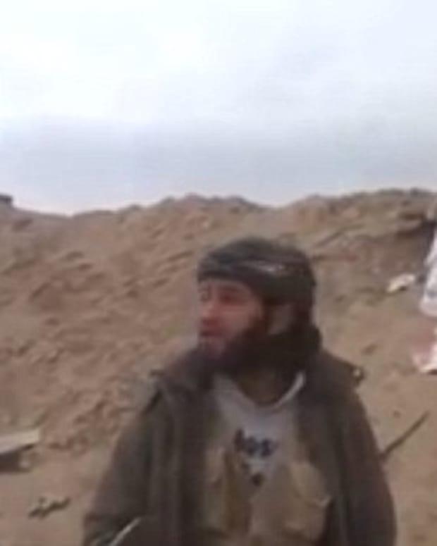 Islamist Rebel Fighter.