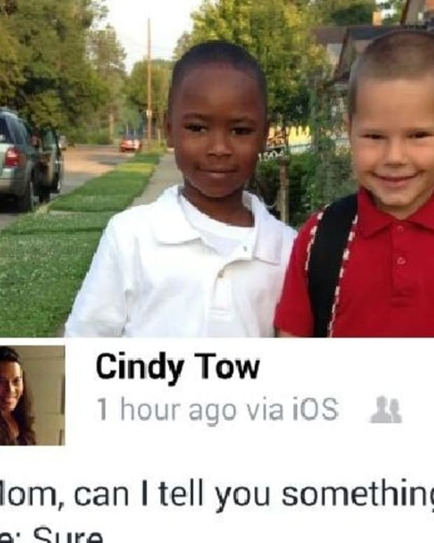 Mother Gets Caught A Little Off Guard By Her Young Son's Comment (Photo) Promo Image