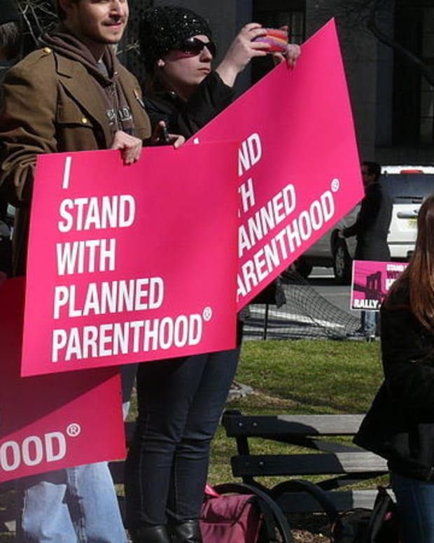 Planned Parenthood Clinic Vandalized With Bible Verse Promo Image
