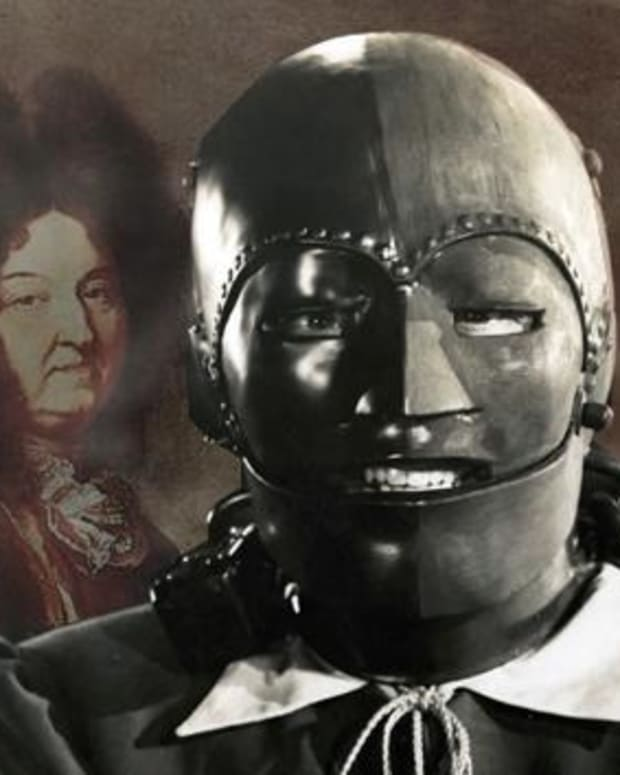 Identity Of Man In The Iron Mask Revealed (Photos) Promo Image