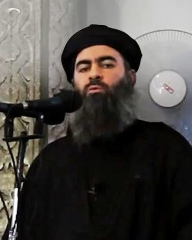 Islamic State Leader Reportedly Dies In Air Raid Promo Image