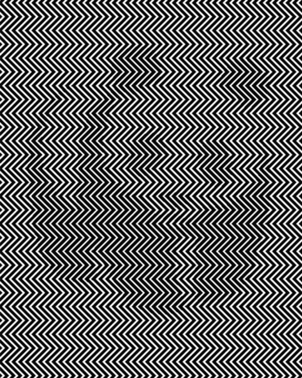 black and white image with hidden message