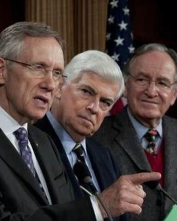 Senate Minority Leader Harry Reid.