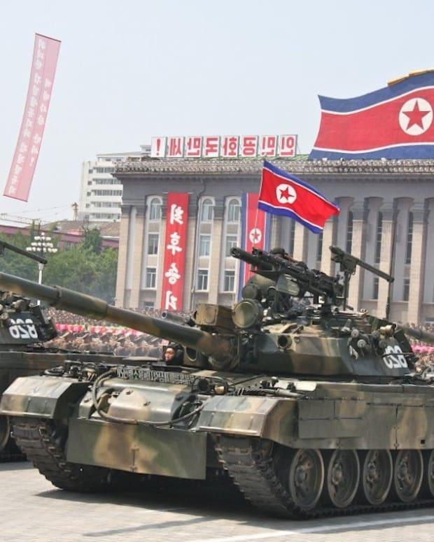North Korean tank