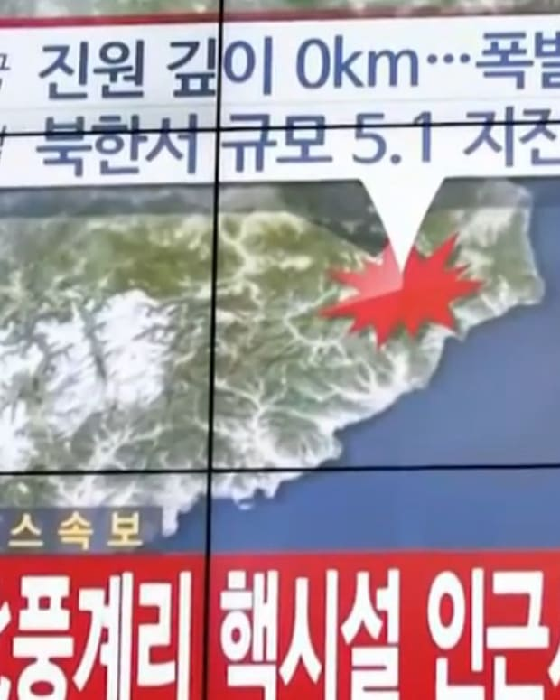 North Korea Hydrogen Bomb.
