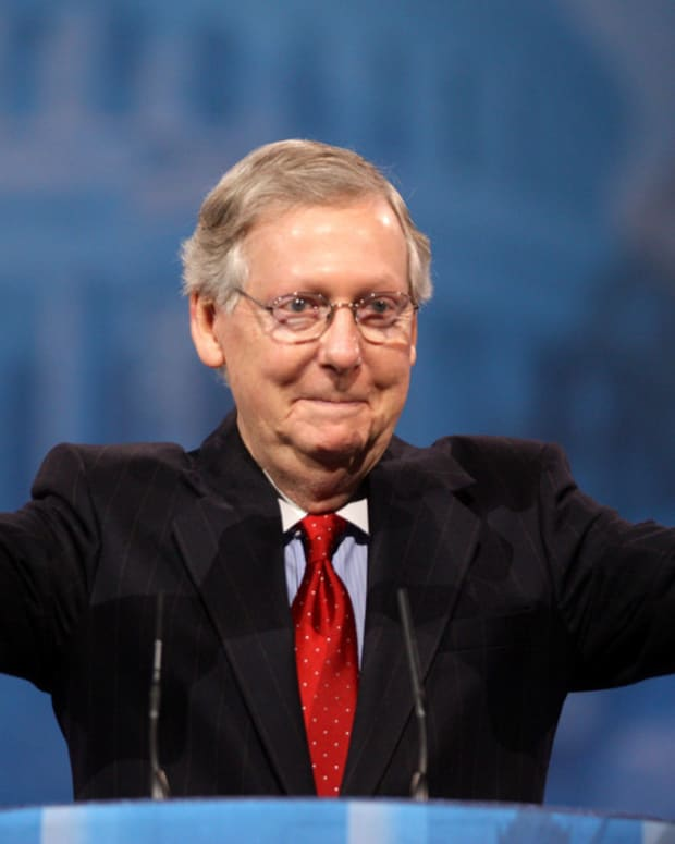 McConnell: 'Obvious' Trump Isn't Informed On The Issues Promo Image