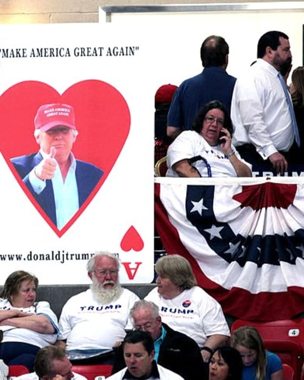 Texas Voters 'Look Past' Trump's KKK Issue (Video) Promo Image