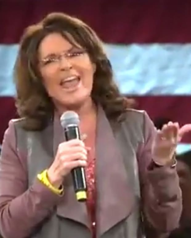 Sarah Palin Attacks Anti-Trump Protesters (Video) Promo Image