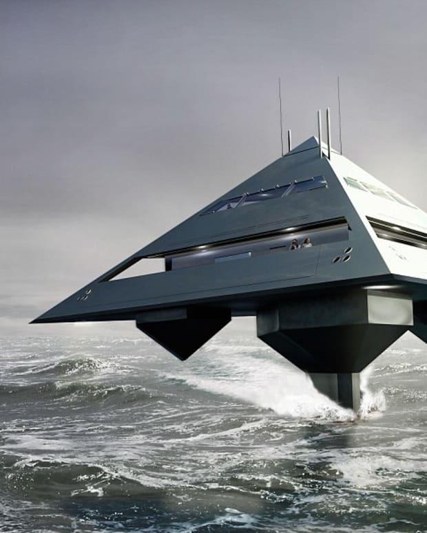 Tetrahedron Super Yacht