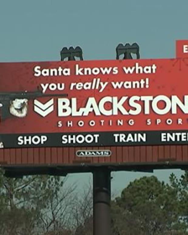 billboard from Blackstone Shooting Sports