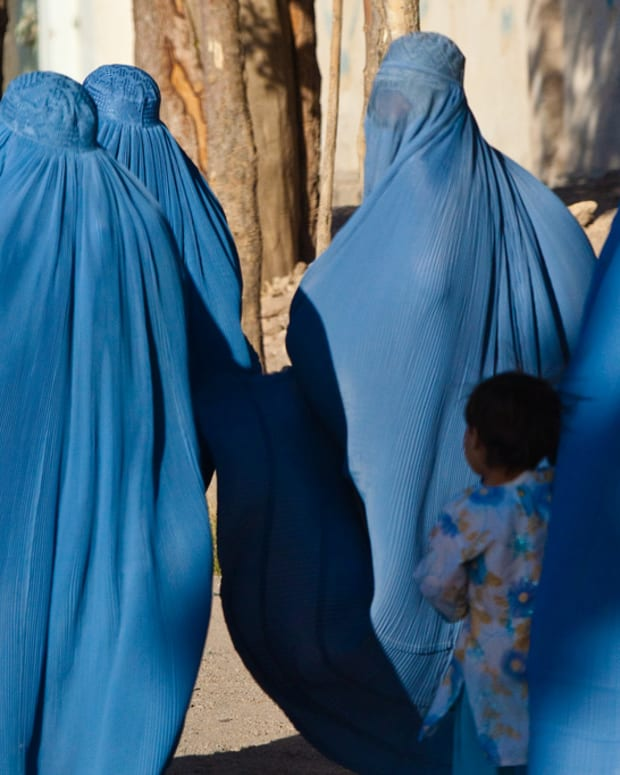 Women and children in Herat, Afghanistan