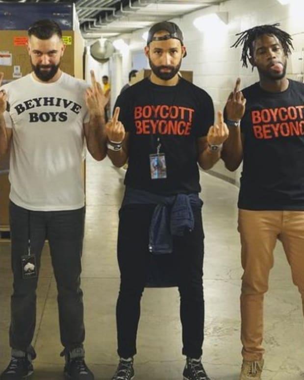 Beyonce Sells 'Boycott Beyonce' Merchandise Promo Image