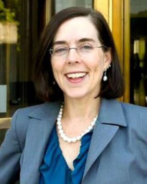 Gov. Kate Brown.