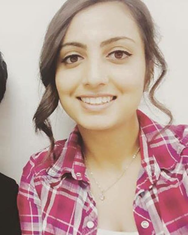 Armaan Singh Pictured With His Cousin, Ginee Haer.