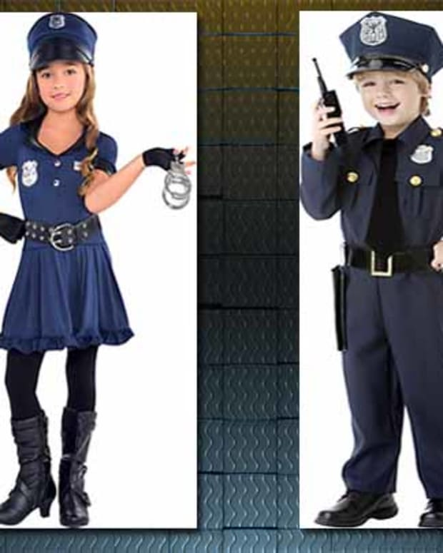 Party City's Police Officer Costumes For Children.