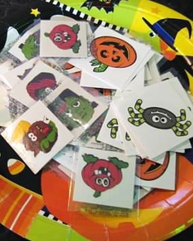 Halloween Stickers.