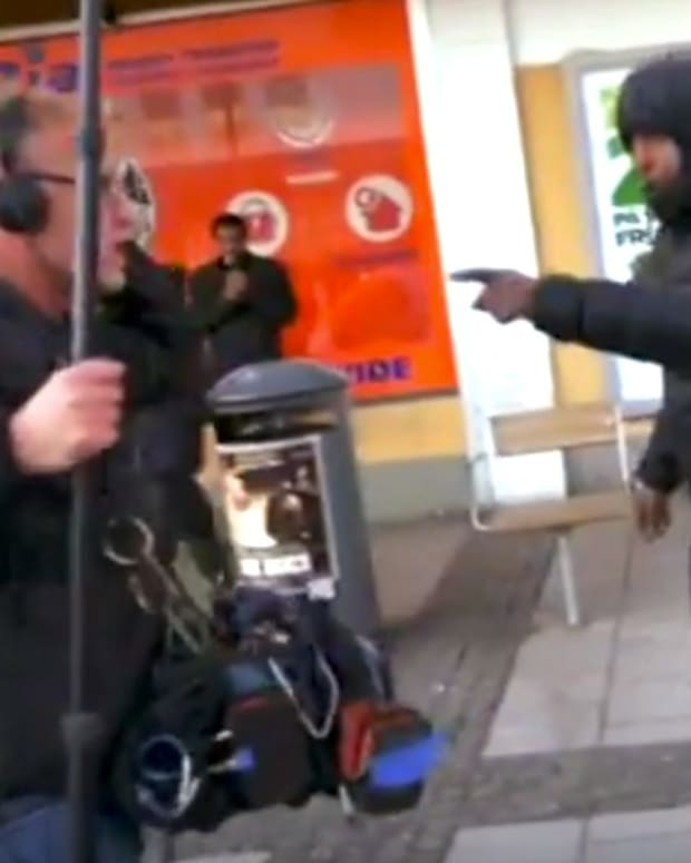 '60 Minutes' TV Crew Attacked In Sweden (Video) Promo Image