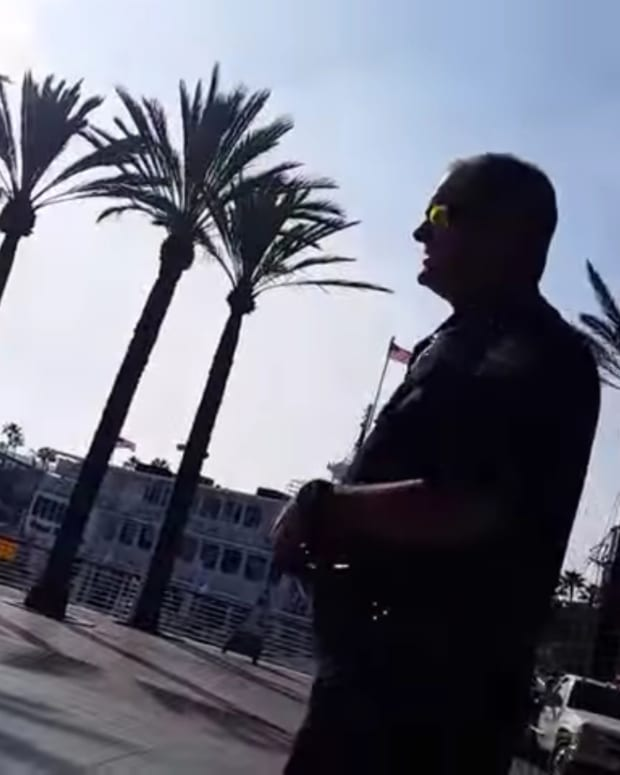 Bike Rider's Heated Encounter With Officer Goes Viral Promo Image