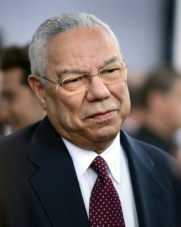 Colin Powell To GOP Candidates: Stop The Nastiness Promo Image