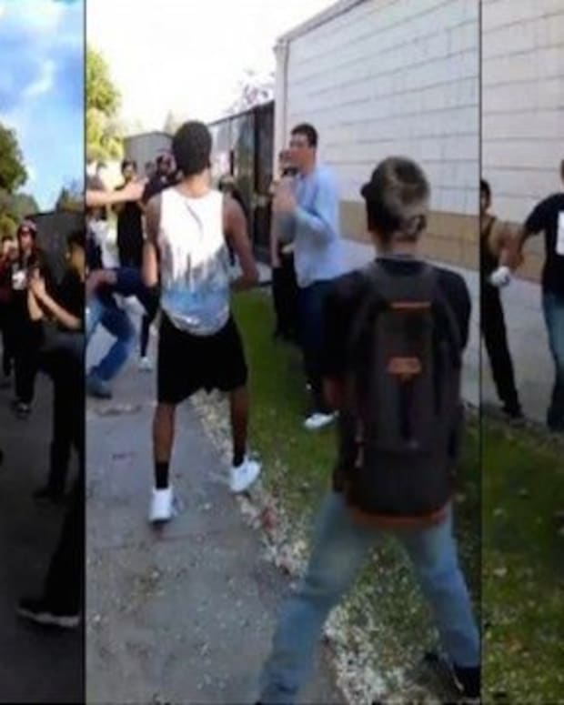 Teenagers Attack Boy, Don't Realize He Has A Surprise Waiting For Them (Video)  Promo Image