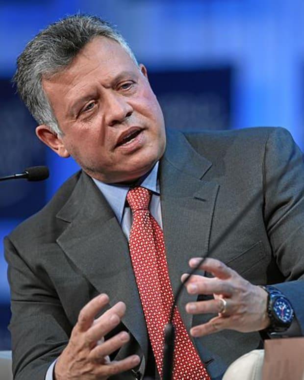 Jordanian King Abdullah II
