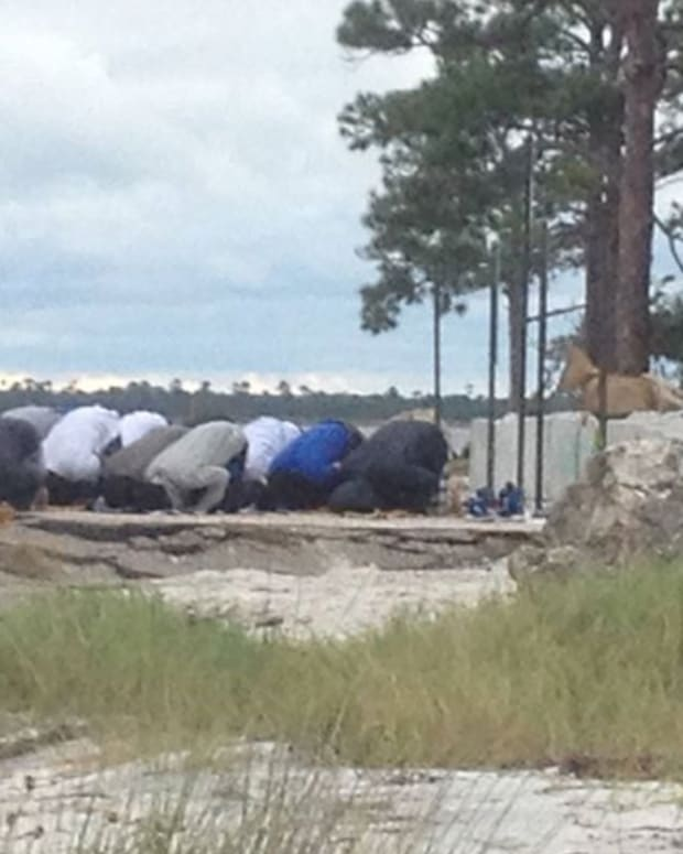 Muslims Florida Beach