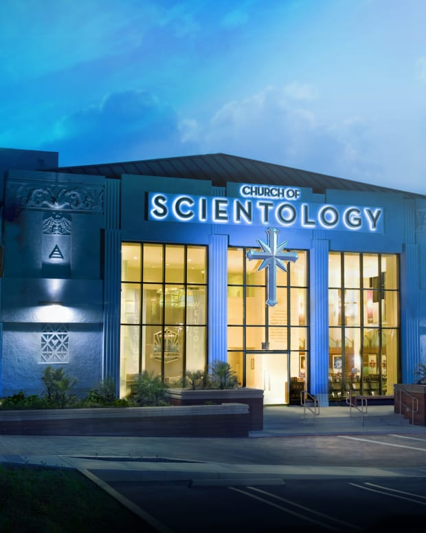 Scientology Headquarters in Los Angeles.
