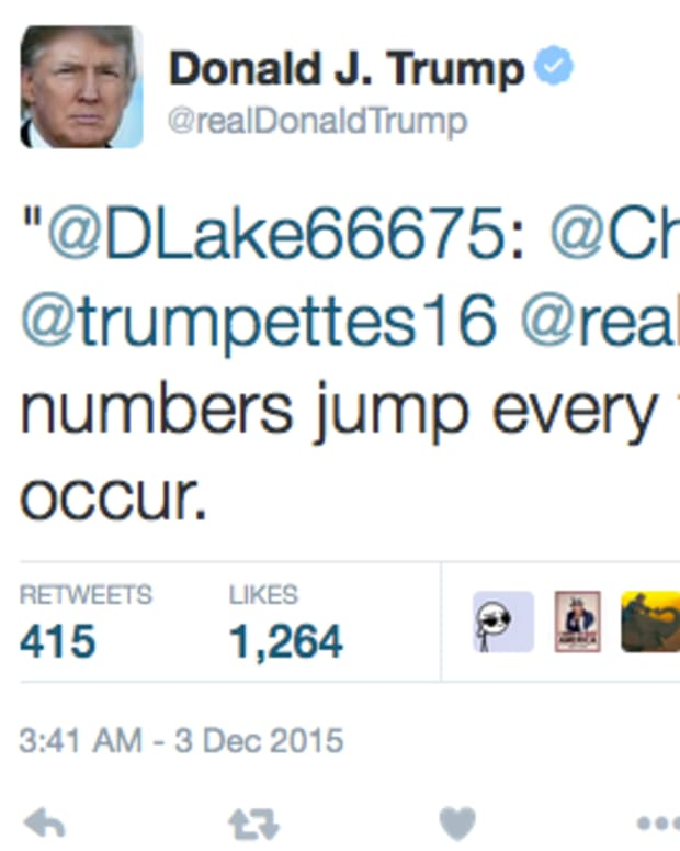 Donald Trump Retweet.
