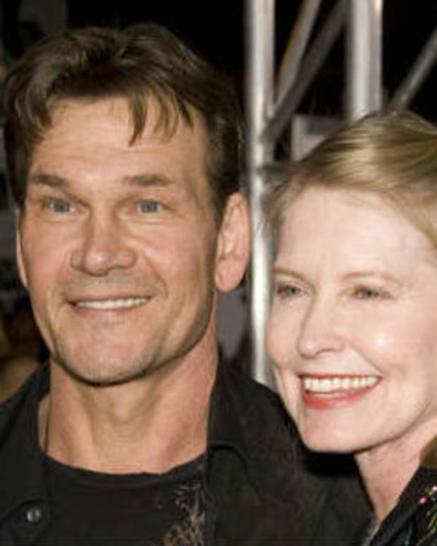 Patrick Swayze's Wife Allegedly Abusive Before He Died Promo Image